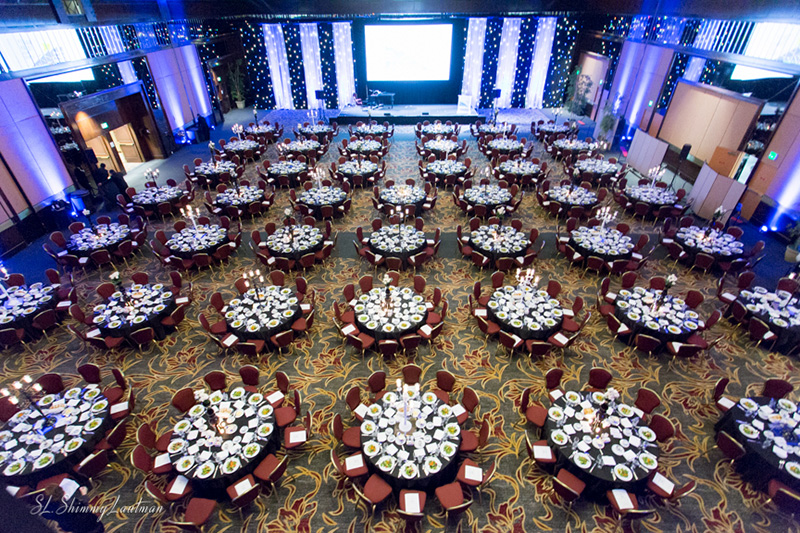 Valley Torah High School Gala's Set and Room Design at the Hilton Universal City Hotel